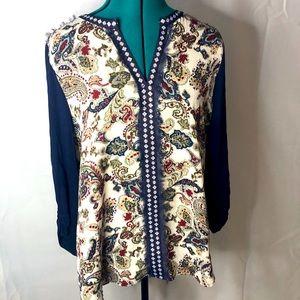 BLACK RAINN • sweater blouse
